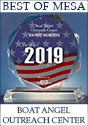 Best of Mesa 2019 Award to Boat Angel Outreach Center